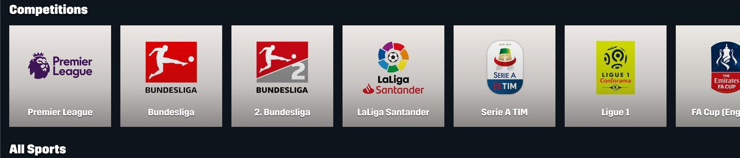 Watch Premier League Football on DAZN